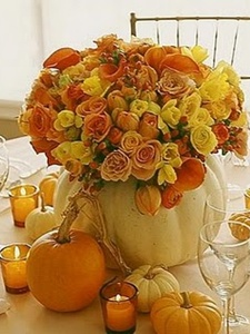 aranjament floral rustic