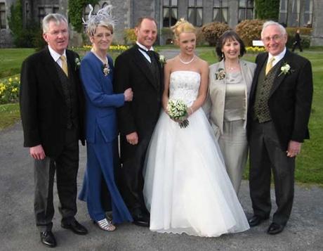 poza cu nasii de nunta