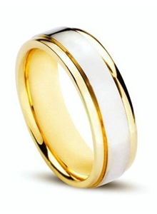 verigheta din aur alb si aur galben