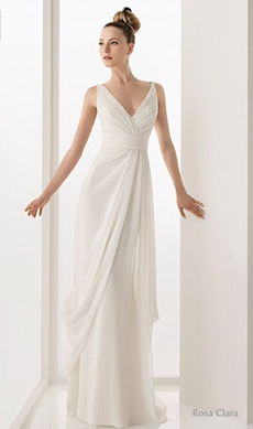rochie de mireasa pentru o femeie slabuta