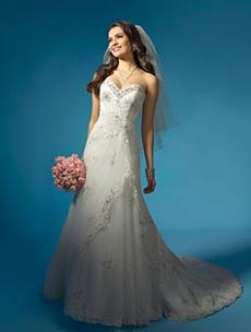 rochie de mireasa pentru o femeie cu bust proeminent
