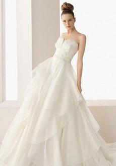 rochie de mireasa cu corset cu cupa