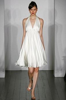 rochie de mireasa scurta