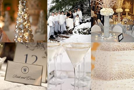 decoratiuni de nunta alb argintiu