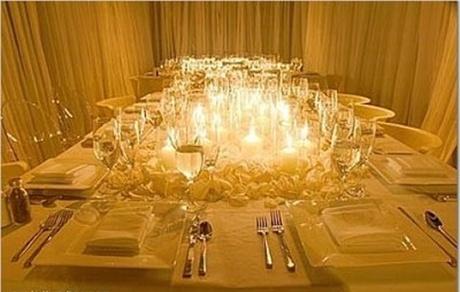 decoratiuni de nunta cu lumanari