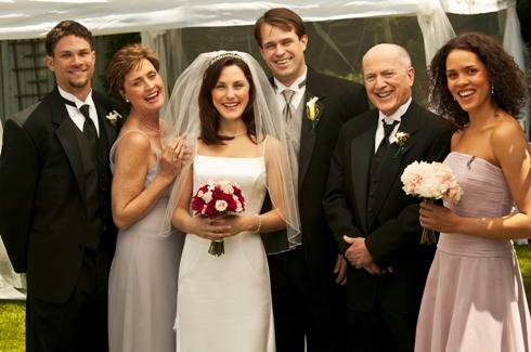 Fotografie de grup la nunta