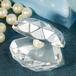 Marturie nunta, scoica cristal