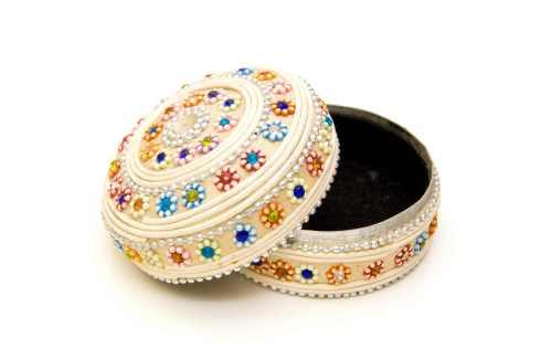 Cutie bijuterii marturie de nunta