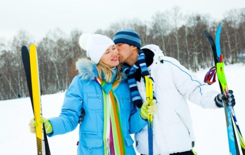 Ski la St. Moritz
