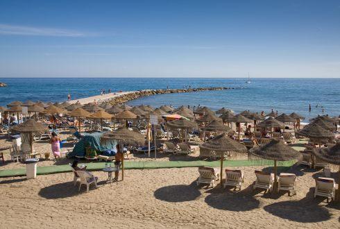 Plaja in Spania
