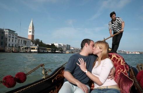 Indragostiti in gondola, la Venetia