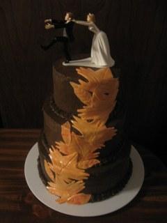 Tort de ciocolata pentru nunta