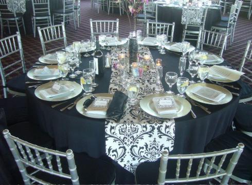 Decor nunta argintiu