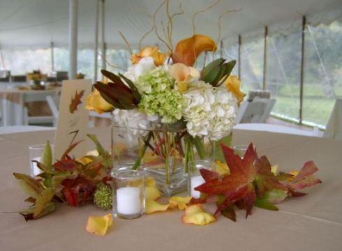 Decoratiuni nunta de toamna