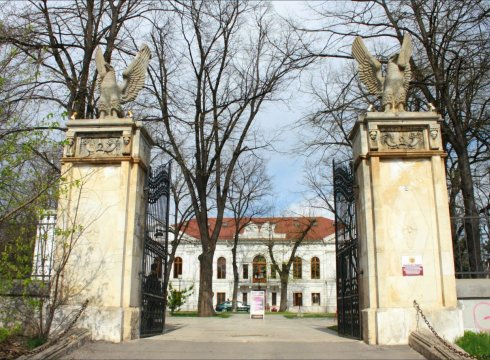 Intrare Palatul Ghika
