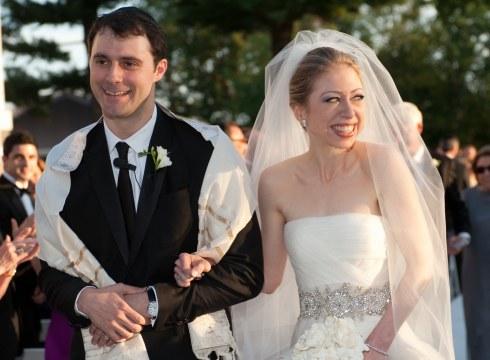Chelsea Clinton si Marc Mezvinsky