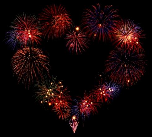 Artificii pentru nunta