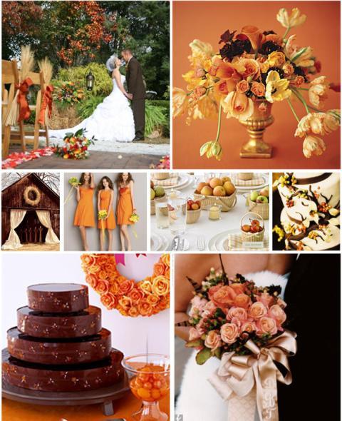 Inspiratie pentru nunta de toamna
