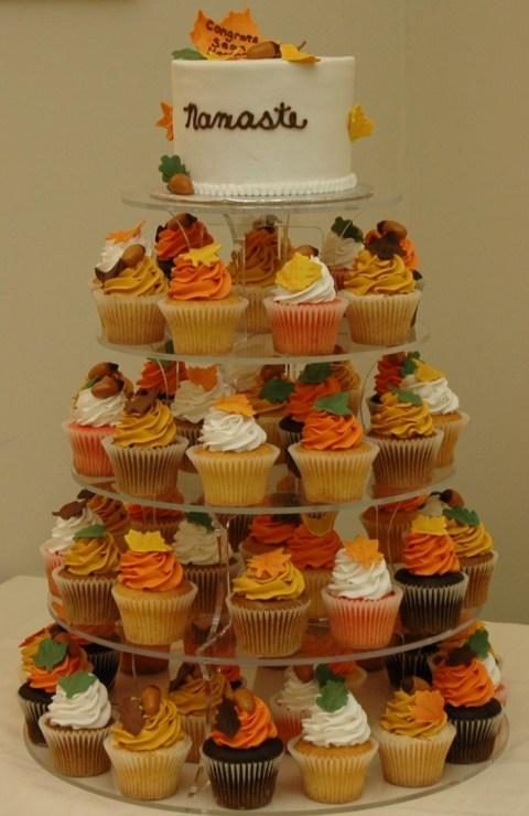 Tortul miresei nunta de toamna