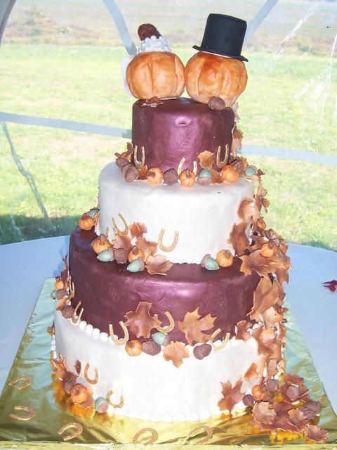 Tort nunta toamna