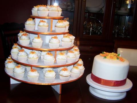 Tort de nunta cu mini torturi