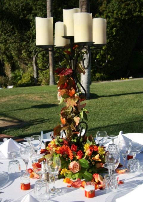 Decoratiuni pentru nunta de toamna