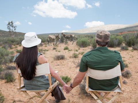 Cuplu in safari