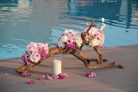 Aranjamente flori nunta vara 2012