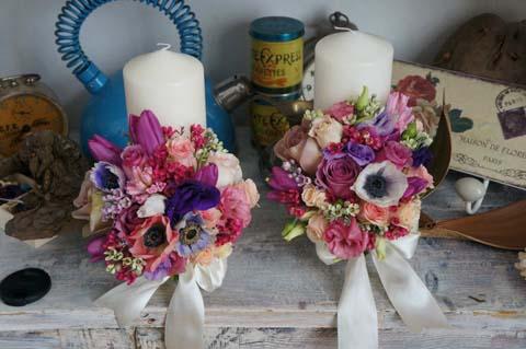 Aranjamente flori nunta vara 2012 Dadoo