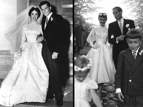Rochie mireasa Audrey Hepburn, rochie mireasa Elizabeth Taylor