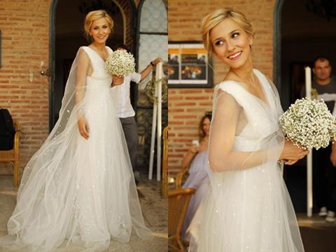 Dana Rogoz mireasa/ Dana Rogoz nunta