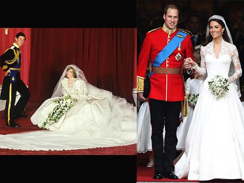 Rochie mireasa Kate Middleton, rochie mireasa printesa Diana
