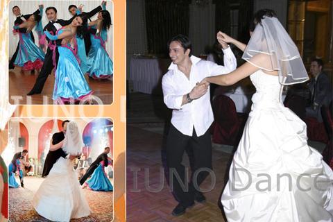 Dansatori la nunta