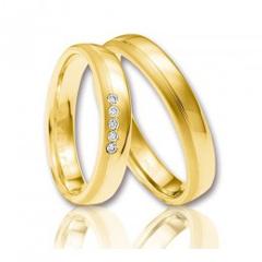 Verighete aur cinci diamante