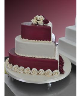 Model tort de nunta 2 - Cofetaria Andalusia
