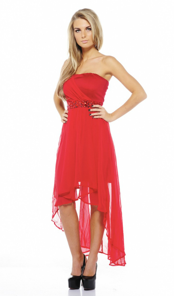 Rochie discover beauty red