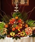 Bufete de fructe Cascada de fructe