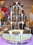 Fantani de Ciocolata Nunti decor